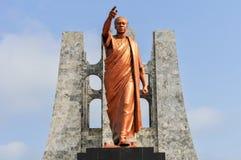 Kwame Nkrumah Memorial Park Monument Stock Photo