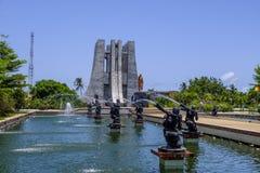 Kwame Nkrumah Memorial Park y fuentes Imágenes de archivo libres de regalías