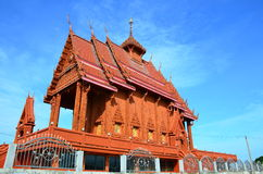 Kwan Sa Arrd Wat на Chachoengsao, Таиланде Стоковое Изображение RF