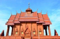 Kwan Sa Arrd Wat на Chachoengsao, Таиланде Стоковые Изображения