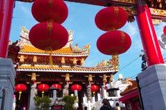 Kwan Tai Temple en Yokohama Chinatown Foto de archivo libre de regalías