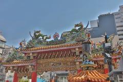 Kwan Tai Temple in Yokohama, Japan. Stock Image