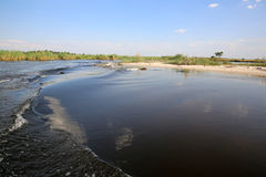 Kwando River Stock Image