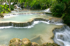 Kwangsi瀑布 库存图片