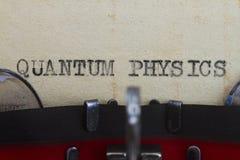 Kwantowy physics Zdjęcia Royalty Free