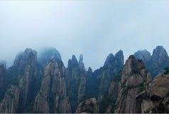 Kwanyin peak. KwanYin enjoying music of sanqing mountain Stock Image