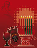 Kwanzaa background Royalty Free Stock Photography