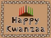 Kwanzaa felice Fotografia Stock