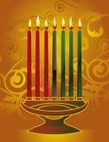 Kwanzaa-Hintergrund Stockbild