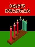 Kwanzaa kinara Stock Images