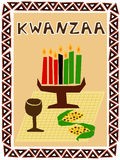Kwanzaa symbols Stock Photo