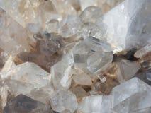 Kwarcowi kopalni kryształy zdjęcia royalty free
