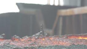 Kwarcowy rudny wytapianie zbiory