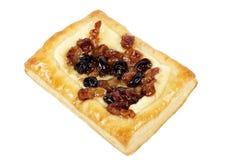 Kwark minipastei met noten en roisins Stock Foto