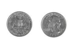Kwartalny dolar Zdjęcia Stock