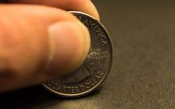 Kwartalny dolar Obraz Stock