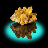 Kwarts Crystal Cluster Stock Foto