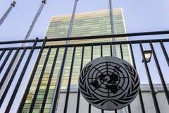 Kwatery główne Narody Zjednoczone, Miasto Nowy Jork zdjęcia stock