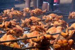 Kwave鸡BBQ 图库摄影