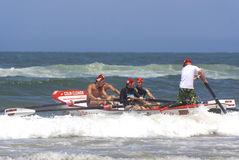 KwaZulu Natal lifeguard challenge Stock Image