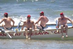 KwaZulu Natal lifeguard challenge Royalty Free Stock Image