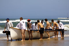 KwaZulu Natal lifeguard challenge event Stock Photo