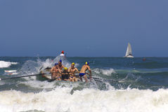 KwaZulu Natal lifeguard challenge event Royalty Free Stock Image