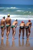 KwaZulu Natal lifeguard challenge event Stock Image