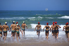 KwaZulu Natal lifeguard challenge event Stock Photography