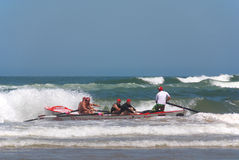 KwaZulu Natal lifeguard challenge event Royalty Free Stock Photos