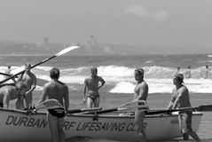 KwaZulu Natal lifeguard challenge event Stock Images
