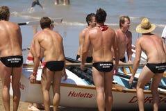 KwaZulu Natal lifeguard challenge event Royalty Free Stock Photo