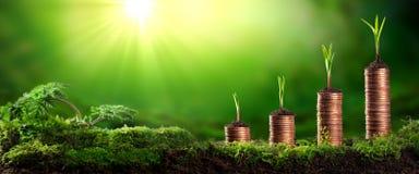 Kweek Uw Bankrekening stock foto