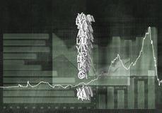 Kwestie van de financiële groei Royalty-vrije Stock Afbeeldingen