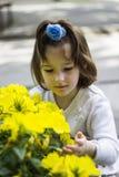 kwiaciarka mała Zdjęcie Stock