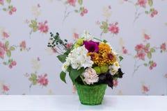 Kwiaciarnia Projektował bukiet Fotografia Stock