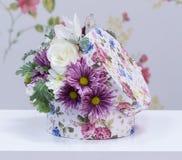 Kwiaciarnia Projektował bukiet Zdjęcia Royalty Free