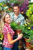 kwiaciarnie Zdjęcia Royalty Free