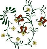kwiaciasty ornament Fotografia Royalty Free