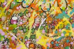 Kwiaciasty tło Obraz Stock