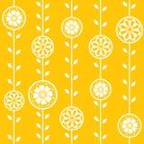 kwiatów bezszwowa wiosna tapeta Zdjęcie Royalty Free