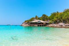 kwiatów domy jeziorny Phuket Thailand Plaża Zdjęcia Stock