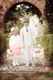 Kwiatów dzieci Fotografia Royalty Free