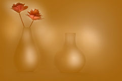 Kwiatów garnki Ilustracyjni Obrazy Stock