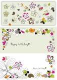 kwiatów graficzny setu wektor ilustracji