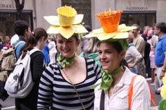kwiatów kapelusze Zdjęcie Stock