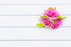 kwiatów menchii stół Obraz Royalty Free