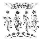 kwiatów ornamenty Zdjęcia Stock