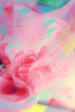 Kwiatów przygotowań wiosny róż świętowania bukieta pastel Zdjęcie Royalty Free