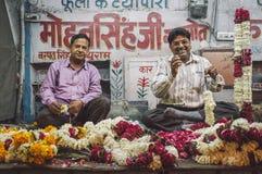 Kwiatów sprzedawcy Zdjęcia Stock